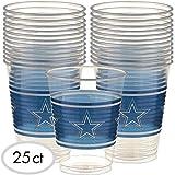 """Dallas Cowboys Collection"" Plastic Party Cups"