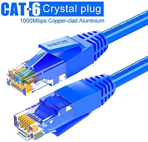CAT6イーサネットパッチケーブル - RJ45コンピュータ、PS2、PS3は、XboxネットワークLANコードおよび0.5 / 1 / 1.5 / 2/3/5/8月10日/ 12月15日/ 25分の20/40分の30/50/80メートル (Color : BL AL, Length : 3m)