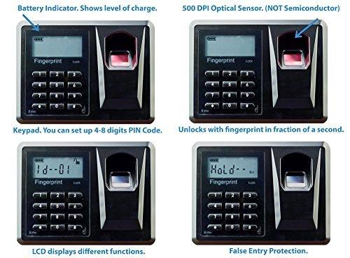 Makita Entfernungsmesser Quad : Viking sicherheit safe vs 20blx mini biometrischen sicher