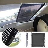 Retractable Car Auto Front Rear Windshield Sun Shade Cover Shield Visor 50 x 125