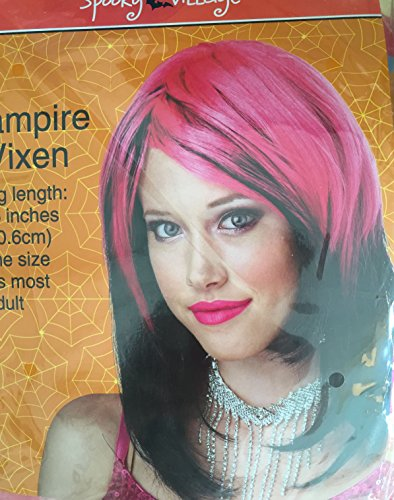 Costume Wig Black and Pink (Cvs Halloween Costumes)