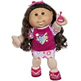 Cabbage Patch Kids 14'' Kids - Brunette/Brown Eye Girl Doll in ''Surfer'' Fashion