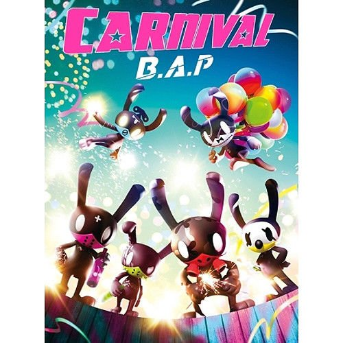 B.A.P [CARNIVAL] 5th Mini Album Special CD+Photobook+Card+etc+Tracking Number K-POP SEALED