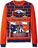 NFL Denver Broncos Ugly 3D Sweater, XX-Large