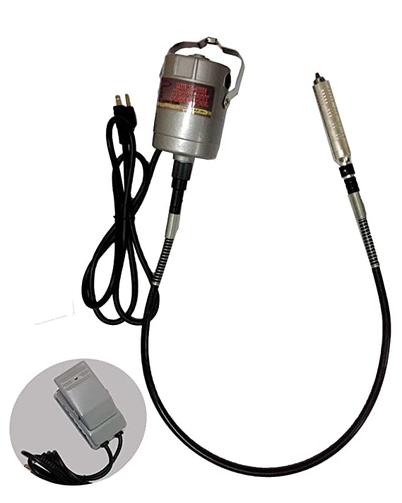 4 12 X 3 Inch Hanging Drill Motor With 42 Inch Flexible Shaft