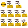4.8v 700MAH NiCd Battery Exit Sign Emergency Light Nickel Cadmium (10 PACK)