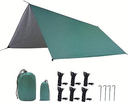 Bling Camping Hamaca Tarp, a Prueba de Agua a Prueba de ...