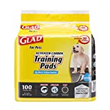 Glad for Pets Black Charcoal Puppy Pads | Puppy