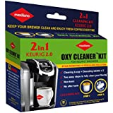 Maxiliano Descaling Kit Compatible with K-cup 2.0 Keurig Brewers, Biodegradable, Non Toxic, No After Taste.