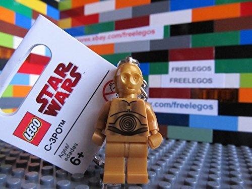 LEGO 852837 Star Wars C3-PO Minifigure Keychain - NEW w/ Tags