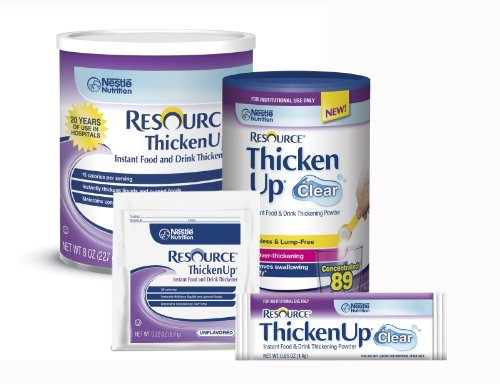 Resource ThickenUp Instant Food Thickeners ( RESOURCE THICKENUP CLEAR PWD 12X4.4OZ ) 12 Each / Case by NESTLE CLINICAL NUTRITION