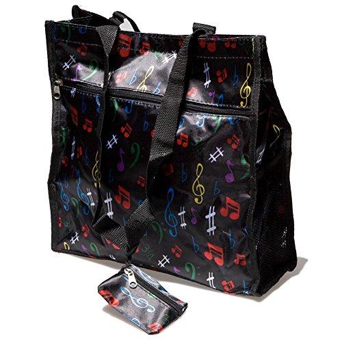 C & K Import Designs Music Tote Bag