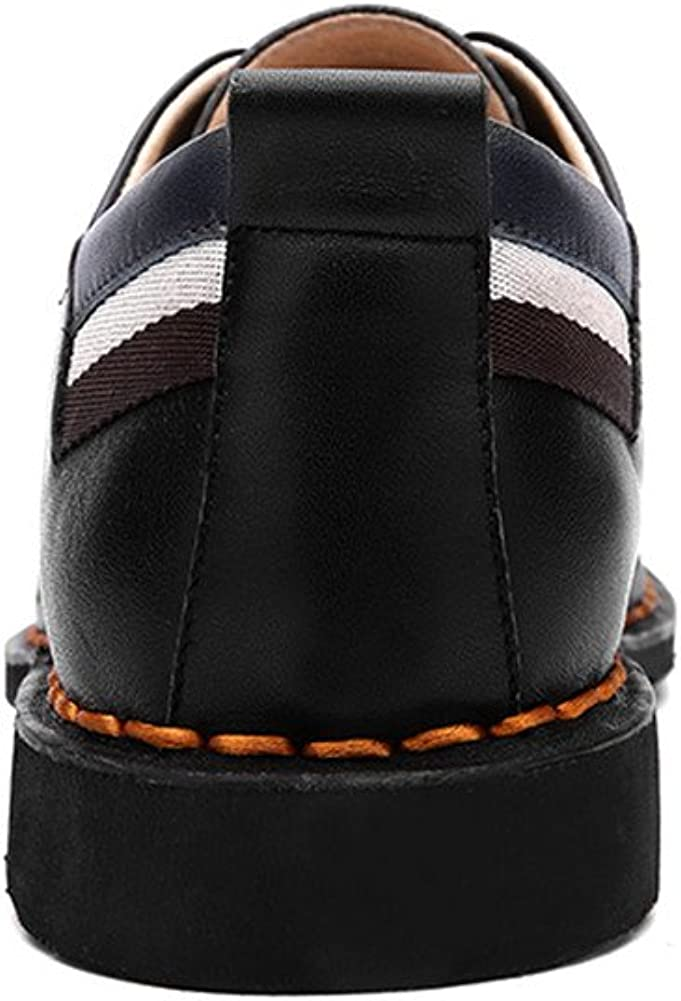 MASSK.COCO Mens Leather Shoes Fashion Dress Shoes Formal Occasions