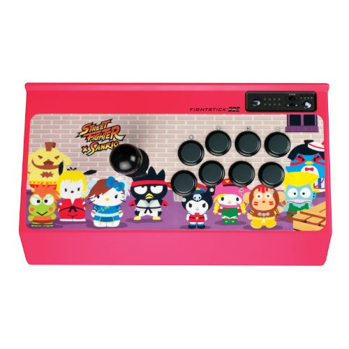 Street Fighter x Sanrio Arcade FightStick PRO for PlayStation 3 by Mad Catz