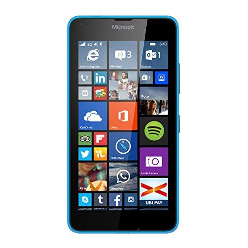 Nokia Lumia 640 LTE RM-1073 (Cyan) - GSM Unlocked - International Version No Warranty