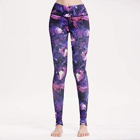 TINERS Pantalones de Yoga Tight High Elástico Autocultivo ...