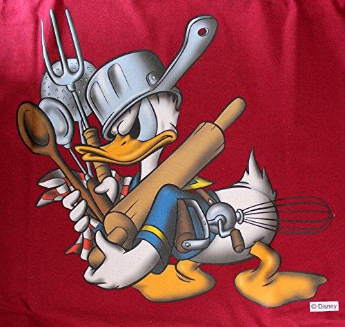 Disney Donald Duck T-Shirt Größe XXL Rot