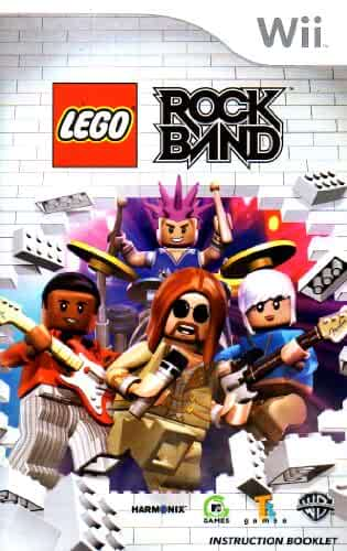 amazon com lego rock band wii instruction booklet nintendo wii rh amazon com Wii U Controller Mike Tyson Punch Out Wii