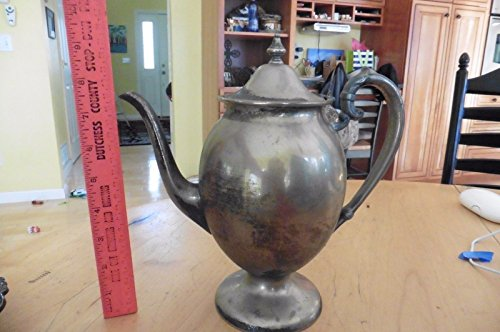 Vintage teapot Silver on copper Antique  - Silverplate Vanity Shopping Results