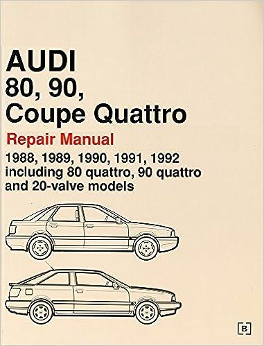 1992 audi 100 quattro book manua