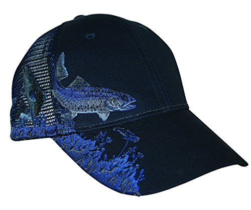 KC Caps Unisex Hunting Fishing Cap Adjustable Embroidery Baseball Hat with Air Mesh Back