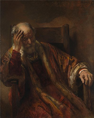 Oil Painting 'Follower Of Rembrandt - An Old Man In An Armchair,1650s', 12 x 15 inch / 30 x 38 cm , on High Definition HD canvas prints is for - Funk Price Sunglasses