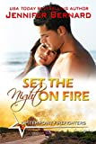 img - for Set the Night on Fire (Jupiter Point Book 1) book / textbook / text book