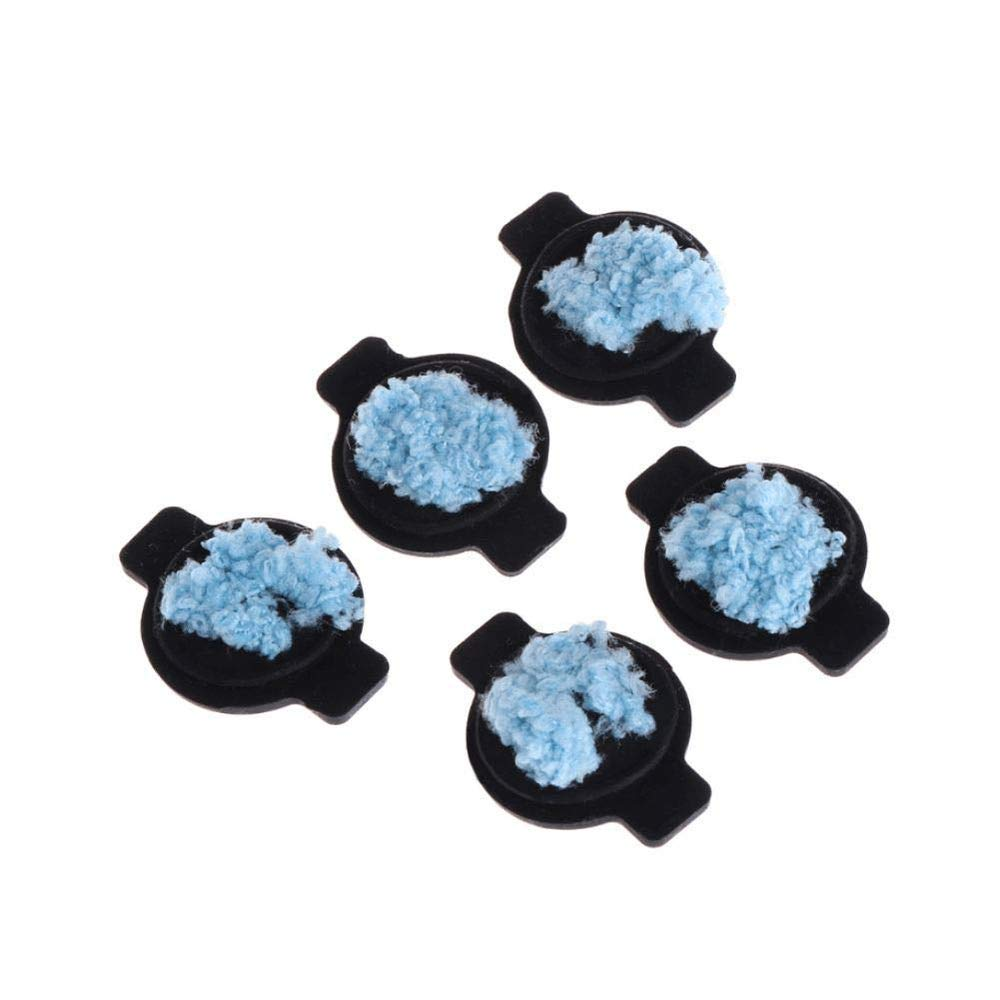 ATEZIEU Microfibra pa/ños de Limpieza Almohadillas de Recambio fregona m para iRobot braava 320 380 381 380T 390 390T Mint 4200 4205 5200 5200C Robotic
