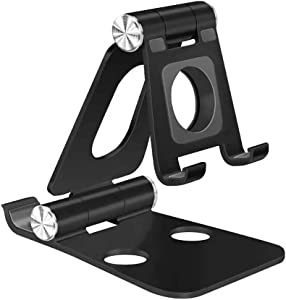 iAnder Adjustable Aluminum Charging Stand Compatible with Apple Watch - Aluminum Charging Dock Station Compatible with iPad/iPhone