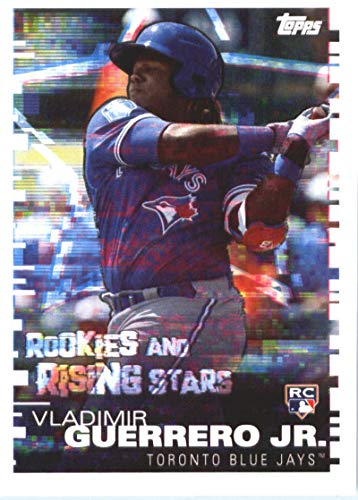 2019 Topps MLB Stickers Baseball #105 Vladimir Guerrero Jr./Corey Dickerson RC Rookie Card Toronto Blue Jays/Pittsburgh Pirates Trading Card Sized Album Sticker with Collectible Card ()