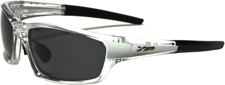 X-Loop Sports Cycling Polarised Wrap Around Sunglasses XL610PZ