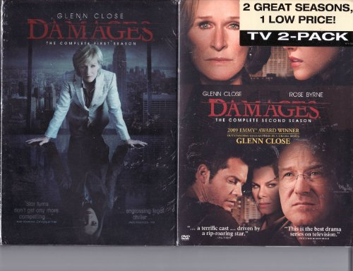 (Damages LIMITED EDITION 2 Pack DVD Set - The Complete Season One and Complete Season Two)