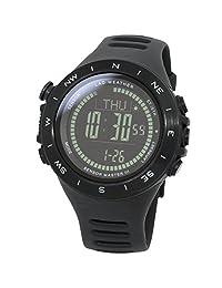 [LAD WEATHER] 100 Meters water resistant Altimeter Barometer Storm alert Step counter Calorie Mountain data Unisex watch