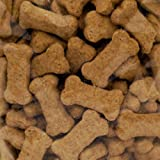 THREE DOG FOOD BAKERY 015096 Biscuits Food for Pets, Mini, Peanut Butter 20-Pound