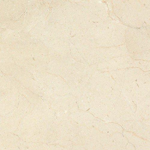 (Honed Spanish Crema Marfil Barcelona Marble Tile - Premium, 12 x 12 )