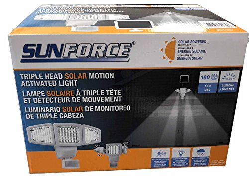 Sunforce Solar Motion Light in Florida - 3