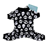 CuteBone Dog Pajamas Skeleton Dog Apparel Dog Jumpsuit Pet Clothes Pajamas P11L