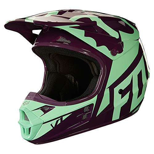 2018 Fox Racing V1 Race Helmet-Green-XL ()
