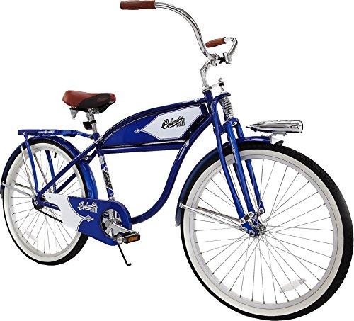 "Columbia 1937 Deluxe 26"" Men's Retro Tank Single-Speed Vintage Beach Cruiser Bicycle"