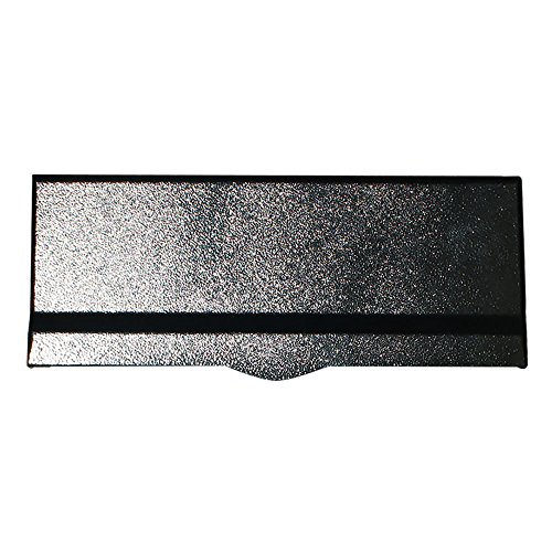 - Qualarc LM6-BLK Letter Plate for Liberty Chute, Black