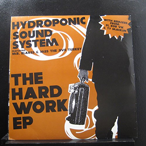 Price comparison product image Hydroponic Sound System - The Hard Work EP - Lp Vinyl Record