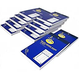 12 Sales Order Receipt Books Carbonless Record Sheets 5 5/8\