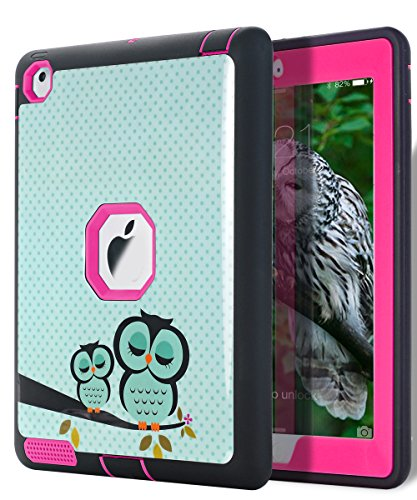 TOPSKY iPad 2 Case,iPad 3 Case,iPad 4 Case, Cute Sleep Owl P