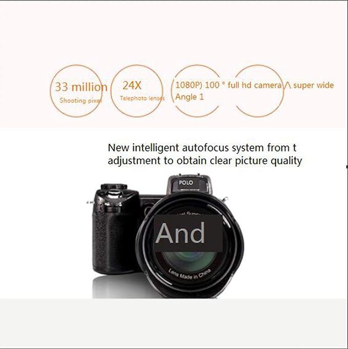 FULANTE Cámara de vídeo Digital de Alta definición, Enfoque ...