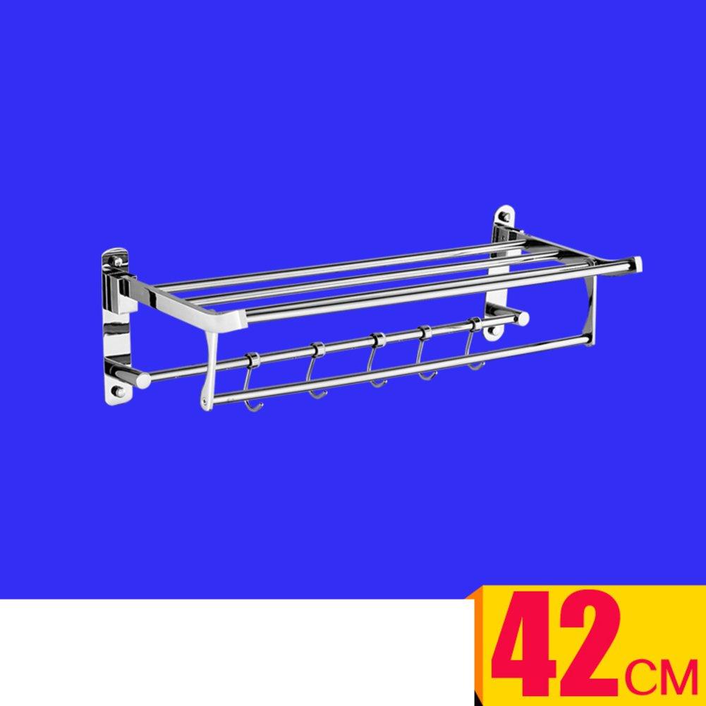 delicate Stainless steel bath Towel rack/Stainless steel Towel rack/ folding Towel rack/Bathroom racks-I