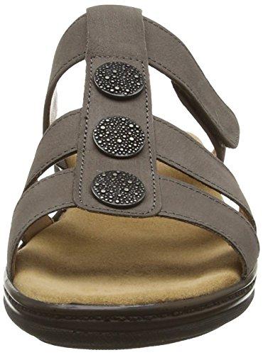Gabor Dominican - Sandalias de cuero mujer marrón - marrón (Nubuck Lavato)