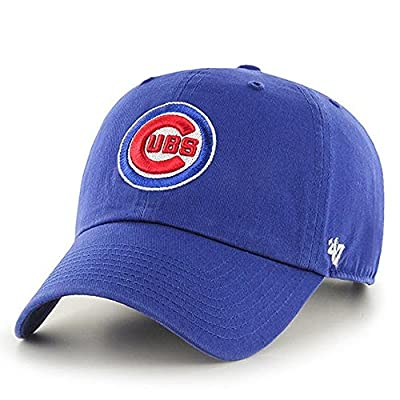 '47 Brand Chicago Cubs Clean Up MLB Dad Hat Cap Royal