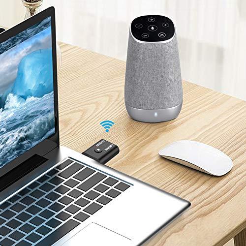 FastUU Powerful Performance Transmitter Receiver Bluetooth Receiver, Bluetooth Adapter, Transmitter Receiver, Transmitter Bluetooth Aux for Car for Bluetooth
