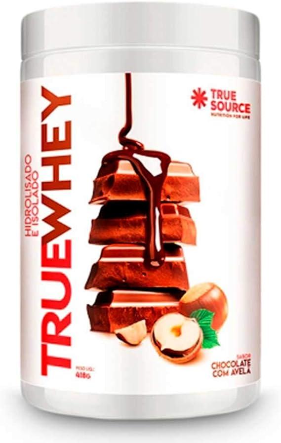 TRUE Whey Protein Hidrolisado e Isolado Chocolate com Avelã TRUE Source 418g