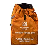 Car Seat Travel Bag by XO Travel - Protect Your Child's Car Seat/Booster from Dirt and Germs - Premium Honeycomb Material, Padded Shoulder Straps - Fits Most Brands - Ideal for Air Travel Gate Check
